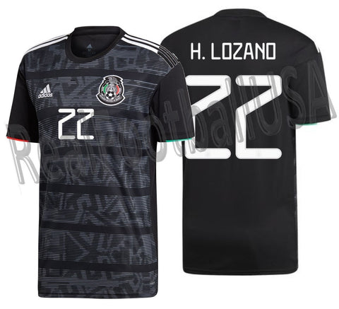 best website fffc8 0e99d ADIDAS HIRVING LOZANO MEXICO HOME JERSEY 2019.