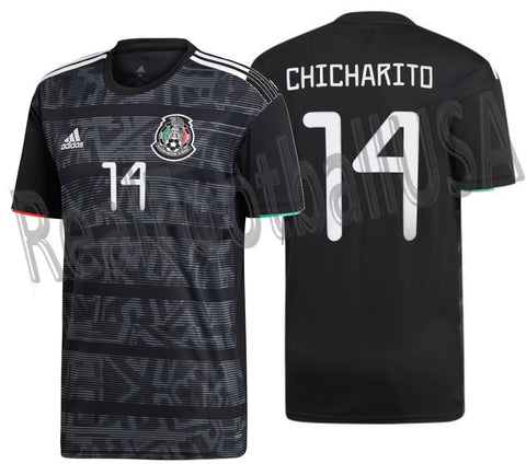 ADIDAS CHICHARITO HERNANDEZ MEXICO HOME JERSEY 2019.