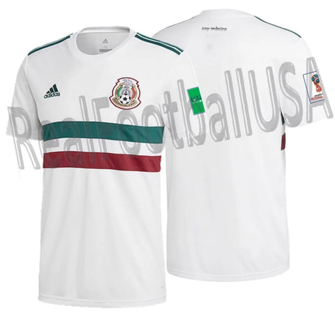 ADIDAS MEXICO AWAY JERSEY FIFA WORLD CUP 2018 PATCHES 1