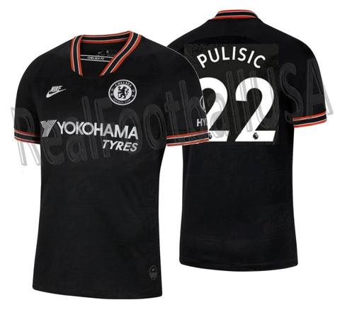 NIKE CHRISTIAN PULISIC CHELSEA FC THIRD JERSEY 2019/20 1