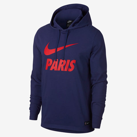 NIKE PSG PARIS SAINT-GERMAIN CORE HOODIE 2018/19.