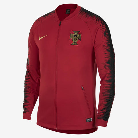 NIKE PORTUGAL ANTHEM JACKET FIFA WORLD CUP 2018 Gym Red/Black.