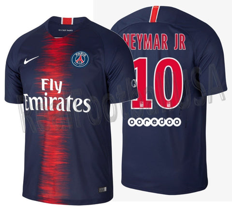 new style be1c9 7077c NIKE NEYMAR JR PARIS SAINT-GERMAIN PSG HOME JERSEY 2018/19.