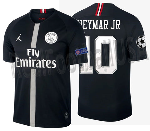 Jordan Neymar Jr PSG Champions League Home Jersey 2018/19 919010-012