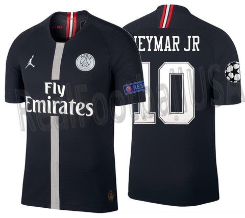 new style 7d489 50f11 JORDAN NEYMAR JR PSG PARIS SAINT-GERMAIN CHAMPIONS LEAGUE VAPOR MATCH HOME  JERSEY 2018/19.