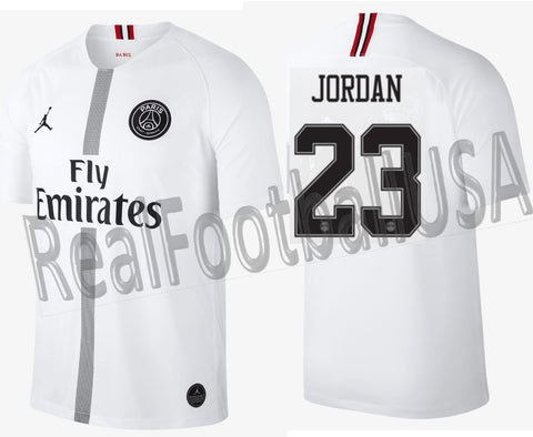 181d88417e5 Jordan Michael Jordan PSG Champions League Away Jersey 2018 19 919010-102