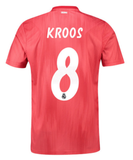 ADIDAS TONY KROOS REAL MADRID UEFA CHAMPIONS LEAGUE THIRD JERSEY 2018/19.
