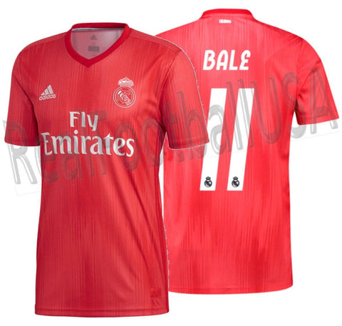 Adidas Gareth Bale Real Madrid Third Jersey 2018/19 DP5445