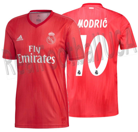 Adidas Luka Modric Real Madrid Third Jersey 2018/19 DP5445