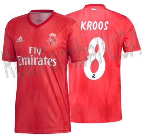 Adidas Tony Kroos Real Madrid Third Jersey 2018/19 DP5445
