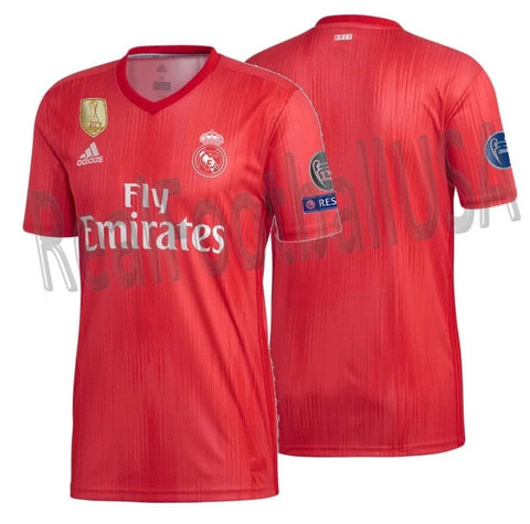 ADIDAS REAL MADRID UEFA CHAMPIONS LEAGUE THIRD JERSEY 2018/19