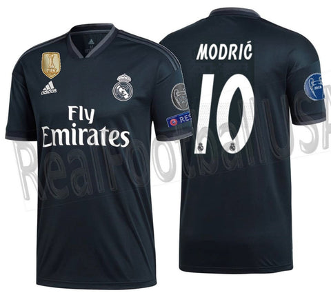 bc2489587 Adidas Luka Modric Real Madrid UEFA Champions League Away 2018 19 CG0584