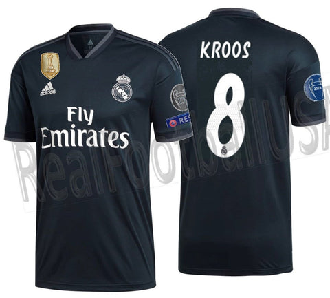 brand new 17ce8 dc17b ADIDAS TONY KROOS REAL MADRID UEFA CHAMPIONS LEAGUE AWAY JERSEY 2018/19.