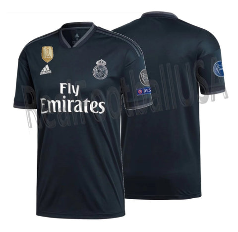 ADIDAS REAL MADRID UEFA CHAMPIONS LEAGUE AWAY JERSEY 2018/19