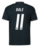 ADIDAS GARETH BALE REAL MADRID UEFA CHAMPIONS LEAGUE AWAY JERSEY 2018/19.