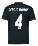 ADIDAS SERGIO RAMOS REAL MADRID AWAY JERSEY 2018/19.