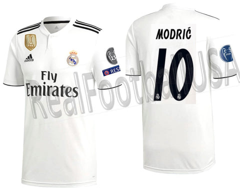 Adidas Luka Modric Real Madrid UEFA Champions League Home 2018/19 DH3372
