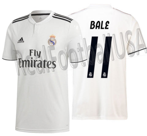 Adidas Gareth Bale Real Madrid Home 2018/19 DH3372