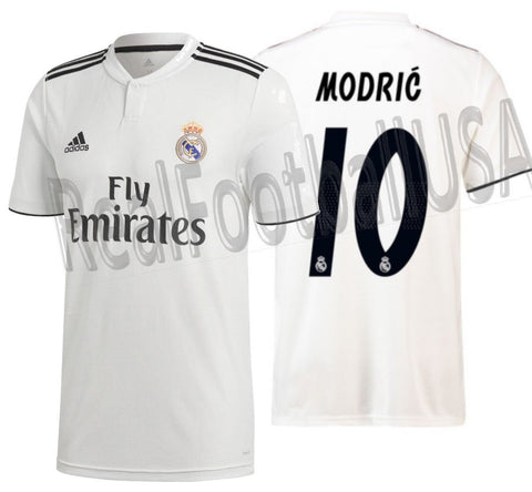 Adidas Luka Modric Real Madrid Home 2018/19 DH3372
