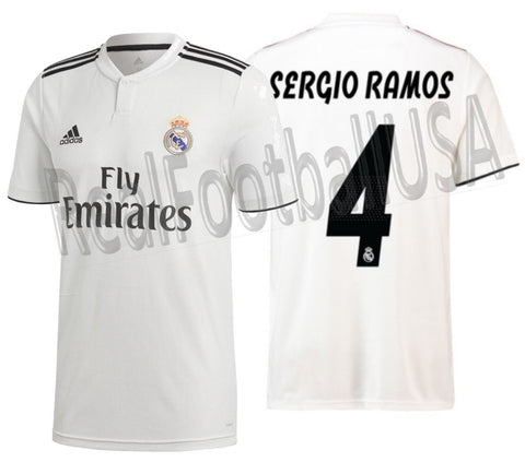 Adidas Sergio Ramos Real Madrid Home 2018/19 DH3372