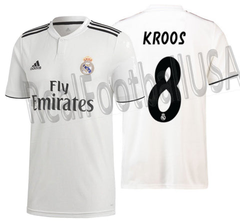 Adidas Tony Kroos Real Madrid Home 2018/19 DH3372