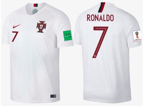 Nike Cristiano Ronaldo Portugal Away 2018 FIFA Patches 93876-100