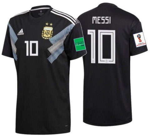 Adidas Messi Argentina Away FIFA Jersey 2018 CD8565