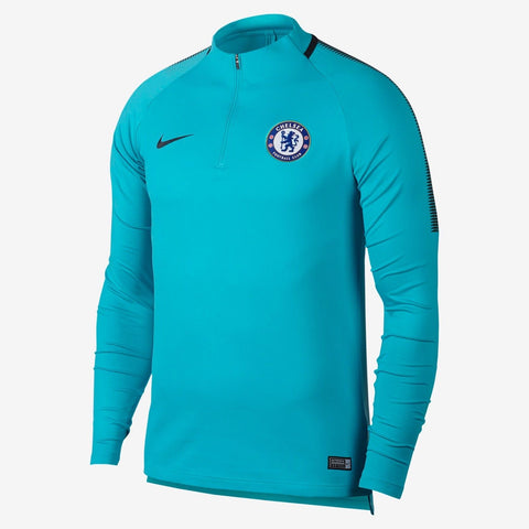 NIKE CHELSEA FC DRY SQUAD DRILL TRAINING TOP 2017/18.
