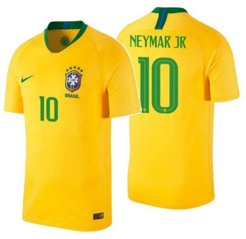 NIKE NEYMAR JR. BRAZIL HOME JERSEY FIFA WORLD CUP 2018.