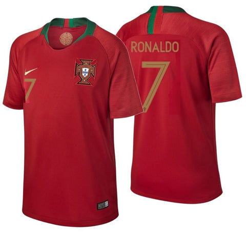 Nike Cristiano Ronaldo Portugal Youth Home Jersey 2018 893995-687