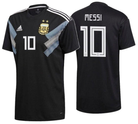 ADIDAS LIONEL MESSI ARGENTINA AWAY JERSEY FIFA WORLD CUP 2018.