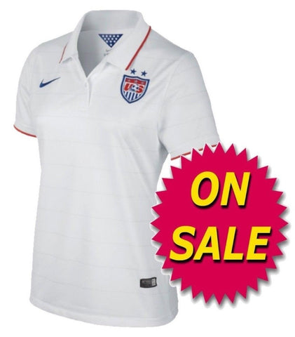 big sale 7f99d d4fff NIKE USWNT USA WOMEN'S HOME JERSEY FIFA WORLD CUP 2014 ON SALE.