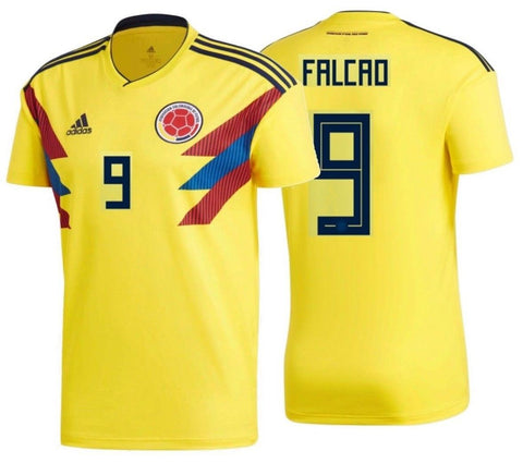 ADIDAS RADAMEL FALCAO COLOMBIA HOME JERSEY FIFA WORLD CUP 2018.