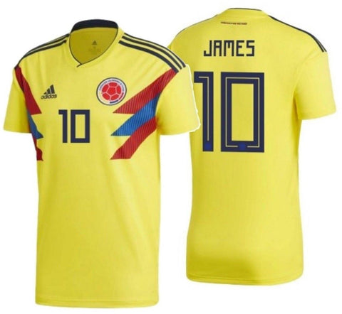 Adidas James Rodriguez Colombia Home Jersey 2018 CW1526