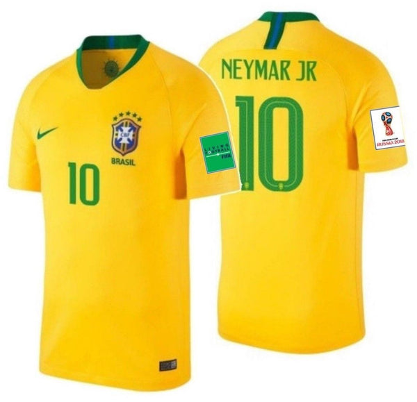 warrant Acquiesce have  NIKE NEYMAR JR. BRAZIL HOME JERSEY WORLD CUP 2018 FIFA PATCHES. –  REALFOOTBALLUSA.NET