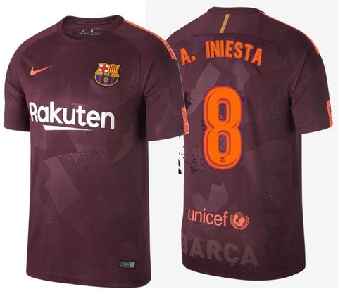 Nike Barcelona Third Jersey 2017/18 847253-683