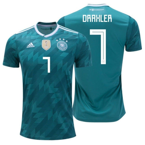 ADIDAS JULIAN DRAXLER GERMANY AWAY JERSEY FIFA WORLD CUP 2018.