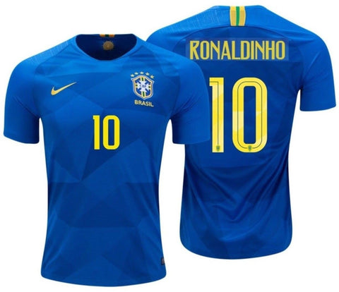 NIKE RONALDINHO BRAZIL AWAY JERSEY WORLD CUP 2018