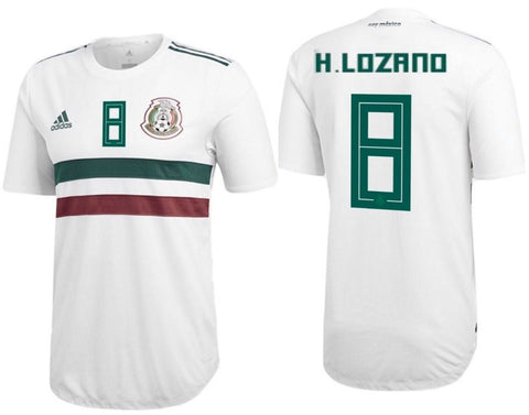 9d2addecb3b Adidas Lozano Mexico Authentic Away Jersey 2018 BQ4682. ADIDAS HIRVING  LOZANO MEXICO AUTHENTIC AWAY PLAYERS JERSEY FIFA WORLD CUP 2018. 220