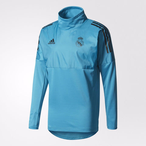 ADIDAS REAL MADRID UEFA CHAMPIONS LEAGUE HYBRID TRAINING TOP 2017/18.