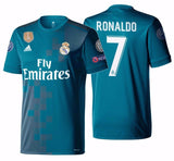 Adidas Ronaldo Real Madrid UEFA Champions League Third Jersey 2017/18 BR3539