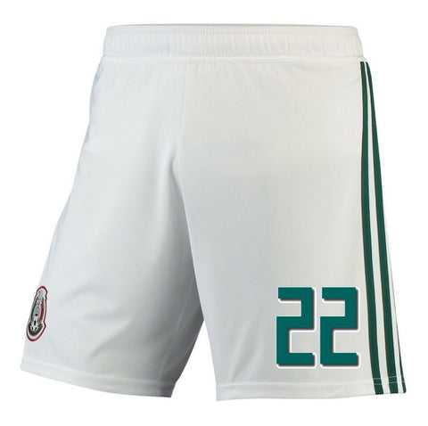 Adidas Lozano Mexico Home Shorts 2018 BQ4693