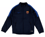 NIKE FC BARCELONA SQUAD YOUTH WOVEN TRACKSUIT Obsidian/Royal 4