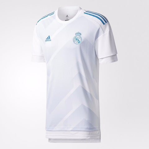 ADIDAS REAL MADRID AUTHENTIC HOME PRE-GAME PRE MATCH JERSEY 2017/18.