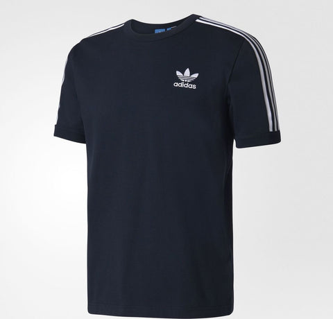 ADIDAS ORIGINALS MODERN GRAPHIC TEE TREFOIL T-SHIRT Legend Ink/White.