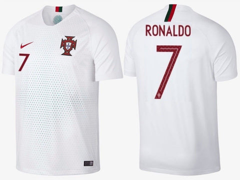 NIKE CRISTIANO RONALDO PORTUGAL AWAY JERSEY FIFA WORLD CUP 2018.