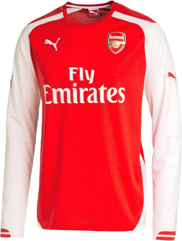 PUMA ARSENAL HOME LONG SLEEVE JERSEY 2014/15.