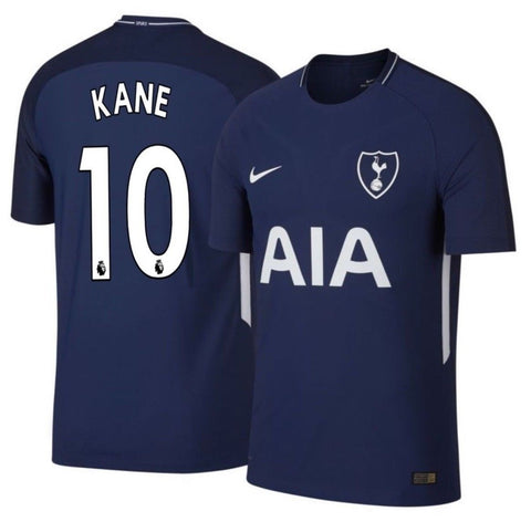 NIKE HARRY KANE TOTTENHAM HOTSPUR AUTHENTIC VAPOR MATCH AWAY JERSEY 2017/18 896321-430