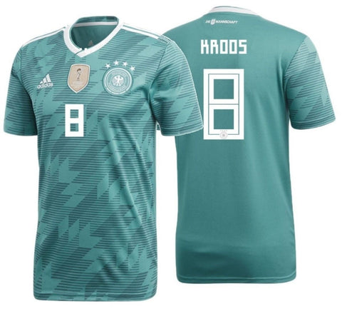 save off 7c23d 0de9d ADIDAS TONY KROOS GERMANY AWAY JERSEY FIFA WORLD CUP 2018.