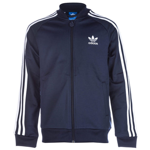 ADIDAS ORIGINALS SUPERSTAR YOUTH TRACK JACKET Navy/White.